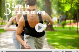 Health Journey – 3 step process to problem solving