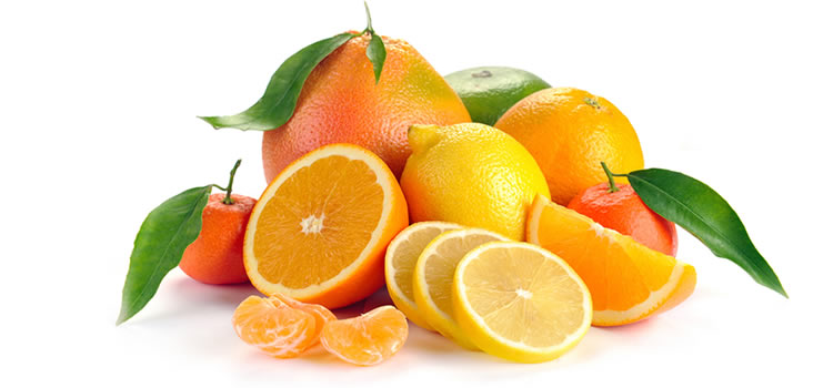 Citrus fruits for detoxification