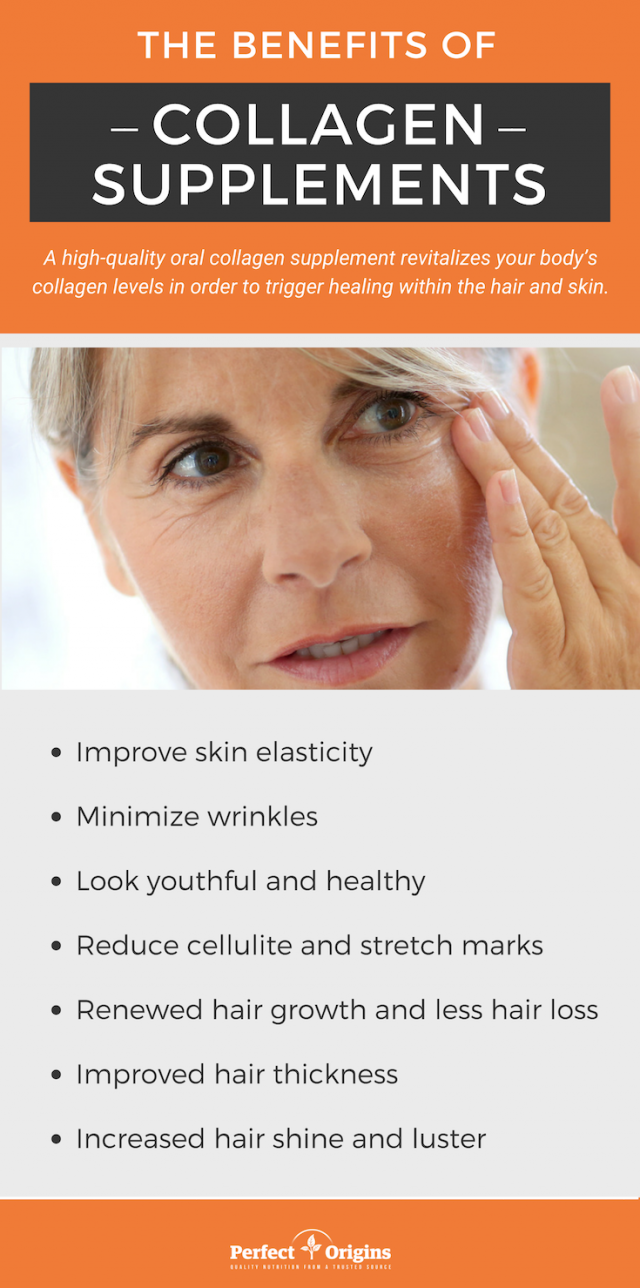 Collagen Supplements for Your Skin and Hair