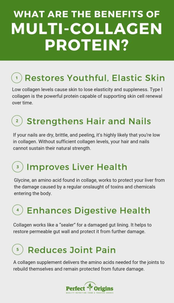 benefits of multi collagen protein