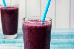 Belly-Slimming Blueberry Breeze Smoothie