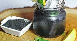 Activated Charcoal Detox Lemonade