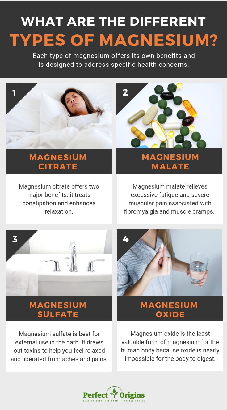 different types of magnesium