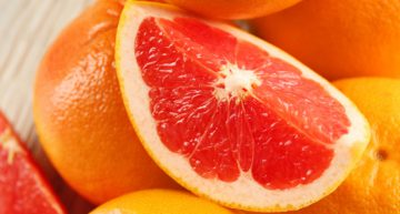 Belly Fat-Melting Grapefruit Tonic