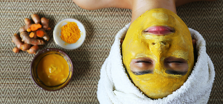 turmeric powder benefits skin